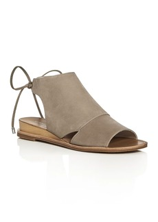 Kenneth Cole Jayda Back Tie Demi Wedge Sandals