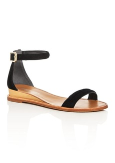 Kenneth Cole Jenna Ankle Strap Demi Wedge Sandals