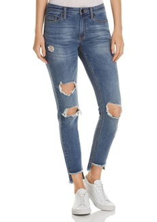 Kenneth Cole Jess Distressed Skinny Jeans in May