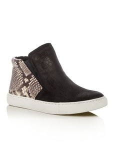 Kenneth Cole Kalvin Snake-Embossed High Top Sneakers