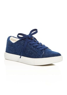 Kenneth Cole Kam Denim Lace Up Sneakers - 100% Exclusive