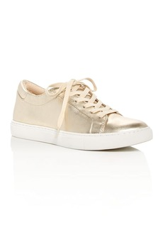 Kenneth Cole Kam Metallic Lace Up Sneakers
