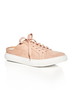 Kenneth Cole Kinsley Suede Lace Up Sneaker Mules