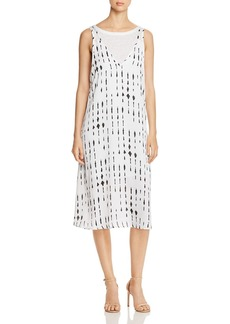 Kenneth Cole Layered Slip Dress