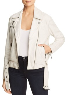 Kenneth Cole Leather Classic Moto Jacket