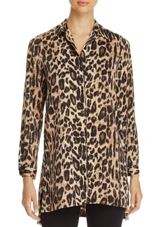 Kenneth Cole Leopard Print Tunic