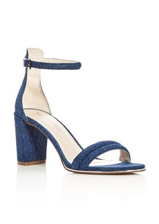 Kenneth Cole Lex Denim Block Heel Sandals