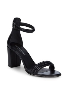 Kenneth Cole Lucie Leather Ankle-Strap Sandals