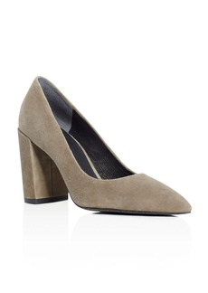 Kenneth Cole Margaux Pointed Toe Block Heel Pumps