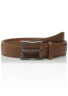 Kenneth Cole Men's 1 1/4 Inch Sherill Dress Belt with Feather Edge