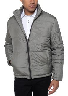 Kenneth Cole Men's Camo Print Puffer Jacket