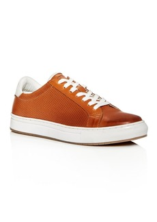 Kenneth Cole Men's Don Embossed Leather Lace Up Sneakers