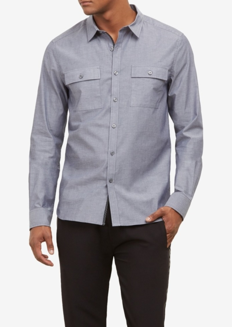 Kenneth Cole New York Men's Dynamic Utility Shirt