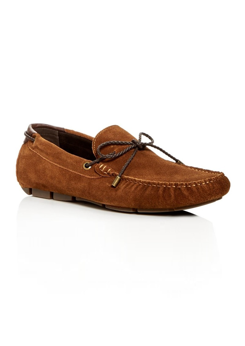 Kenneth Cole Men's Engle Suede Moc Toe Drivers