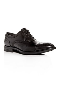 Kenneth Cole Men's Futurepod Leather Cap-Toe Oxfords