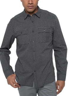 Kenneth Cole Men's Heather Gingham Shirt