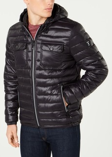 Kenneth Cole Men's Lightweight Packable Puffer Coat