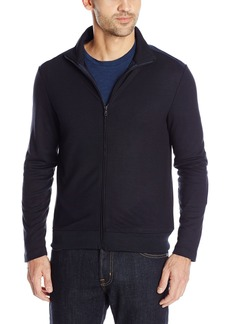 Kenneth Cole New York Men's Long Sleeve Full Zip Mock