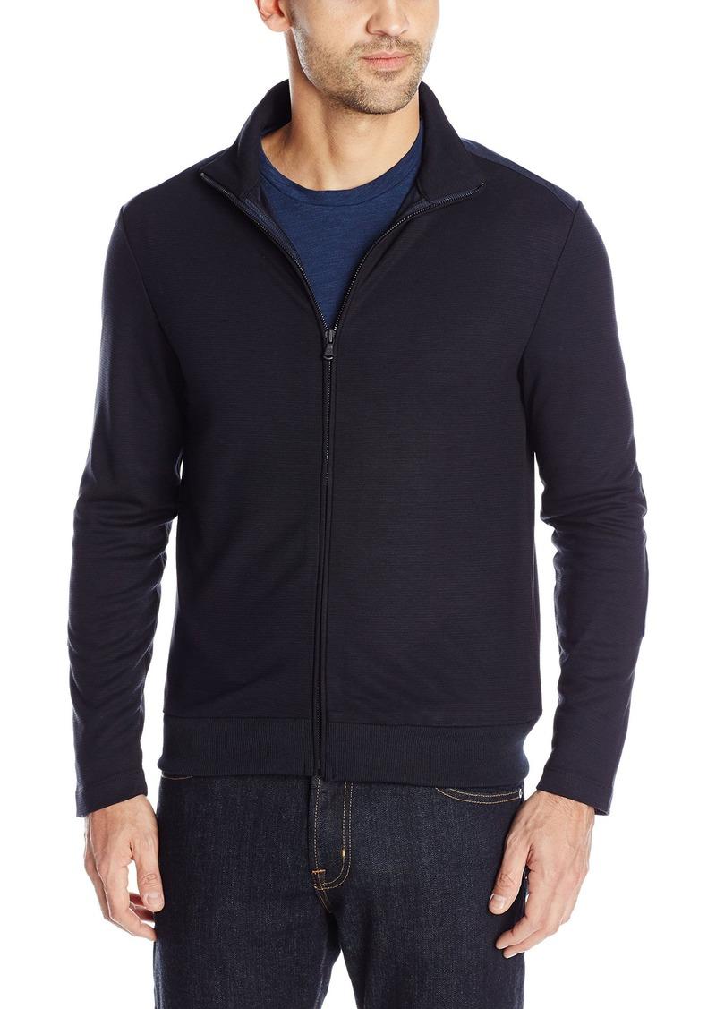 Kenneth Cole New York Men's Long Sleeve Full Zip Mock