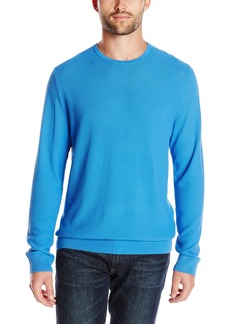 Kenneth Cole Men's Long Sleeve Pique Crew Knit Shirt