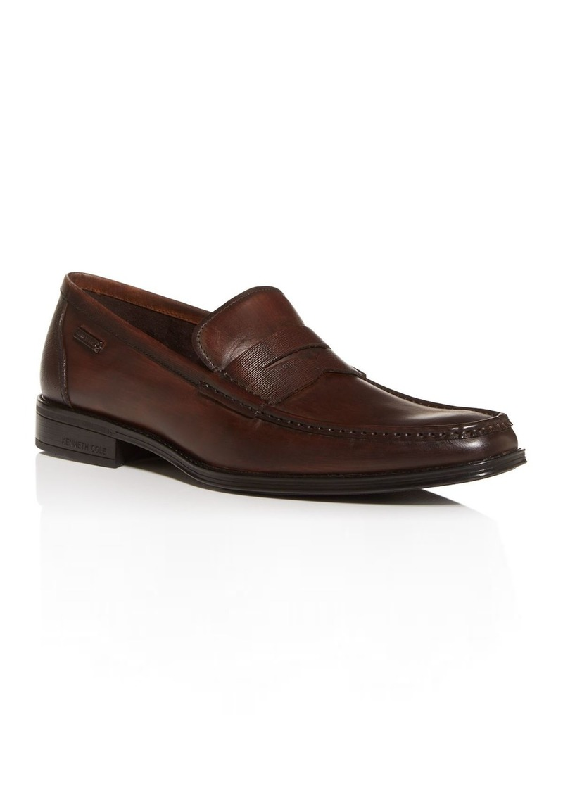 Kenneth Cole Men's Micah Leather Penny Loafers