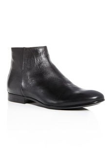 Kenneth Cole Men's Mix Leather Zip Boots