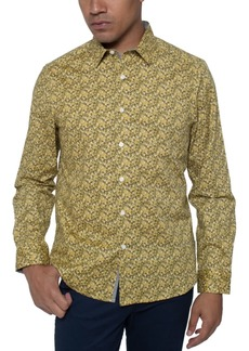 Kenneth Cole Men's Multi-Floral Print Shirt