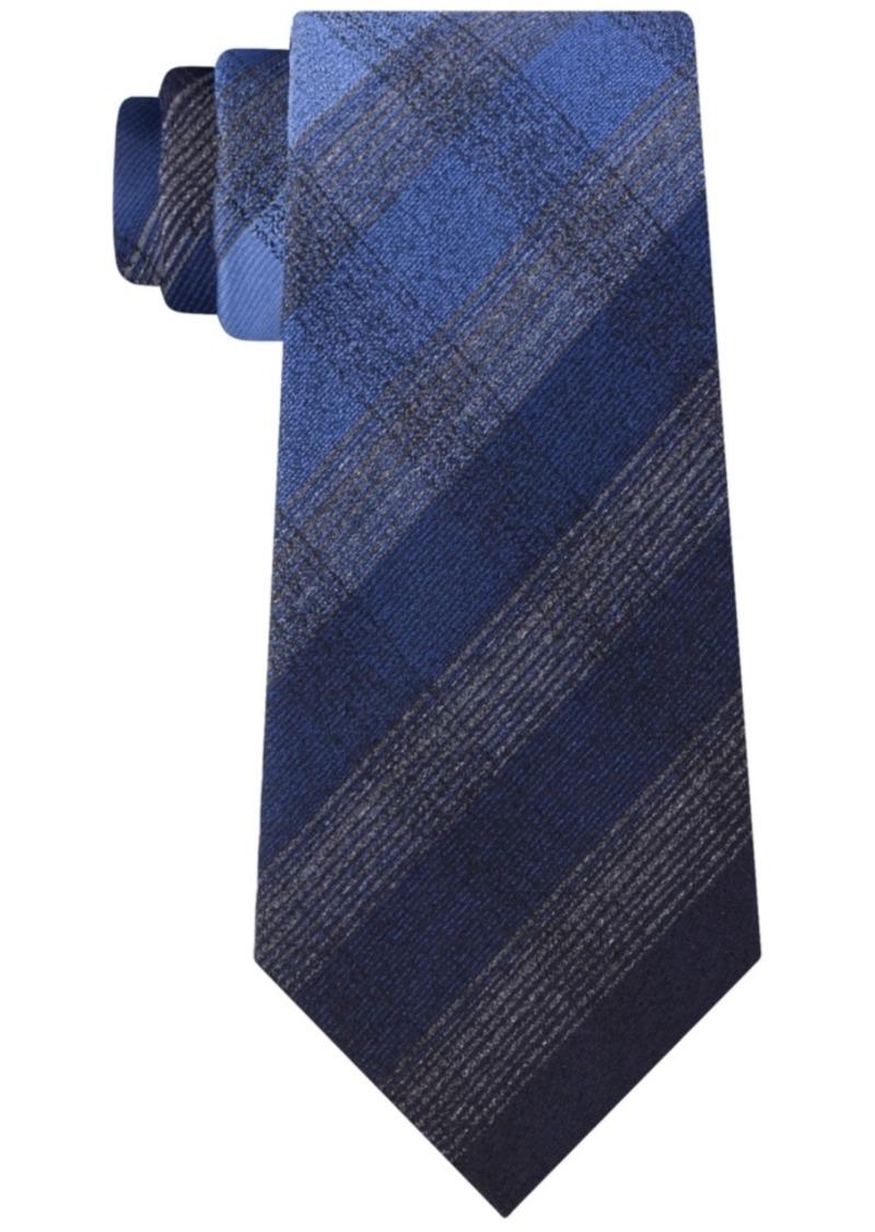 Kenneth Cole Men's Multi Tonal Check Tie