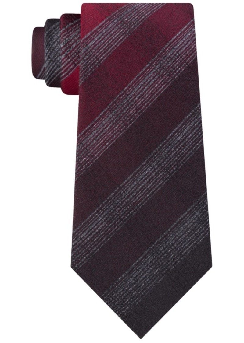 Kenneth Cole Men's Multi Tonal Check Tie