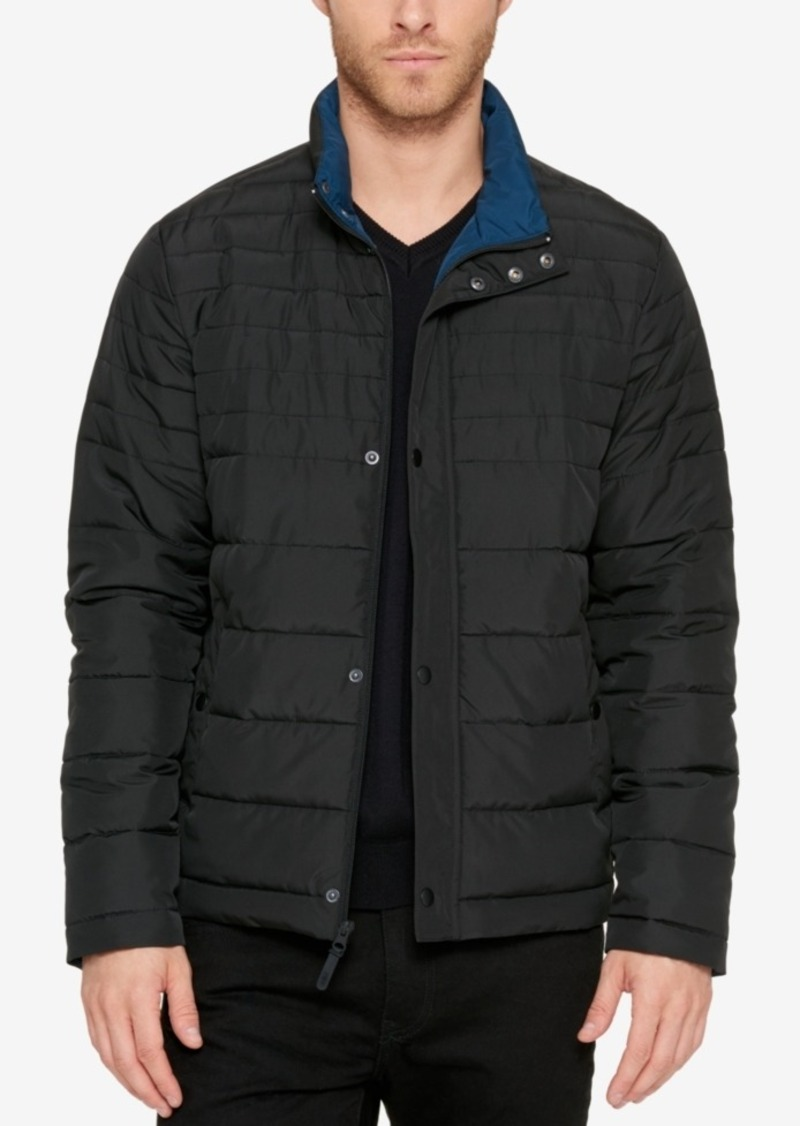 Kenneth Cole Kenneth Cole Men's Packable Puffer Jacket | Outerwear ...