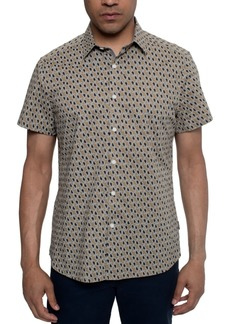 Kenneth Cole Men's Paisley-Print Shirt
