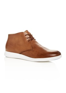 Kenneth Cole Men's Rocketpod Leather Chukka Sneakers