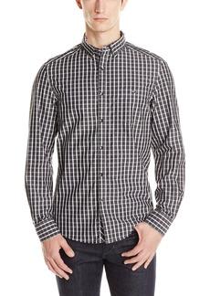 Kenneth Cole Men's Single Pocket Check Shirt