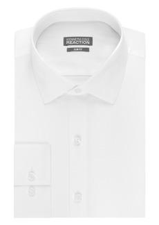 "Kenneth Cole Men's Slim Fit Solid Dot Spread Collar Dress Shirt  16.5"" Neck 34""-35"" Sleeve"