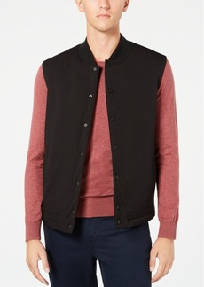 Kenneth Cole Men's Snap-Front Vest