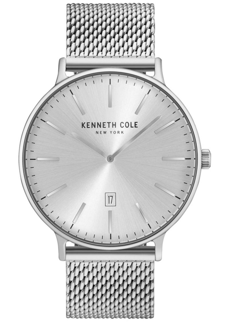 Kenneth Cole Men's Stainless Steel Mesh Bracelet Watch 42mm KC15057009