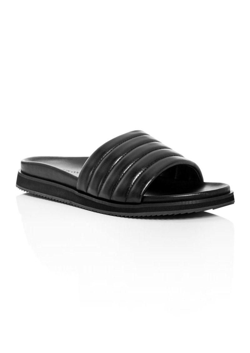 Kenneth Cole Men's Story Leather Slide Sandals