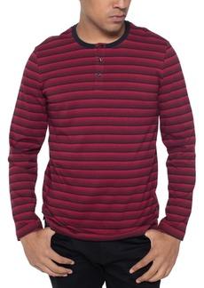 Kenneth Cole Men's Striped Henley Shirt
