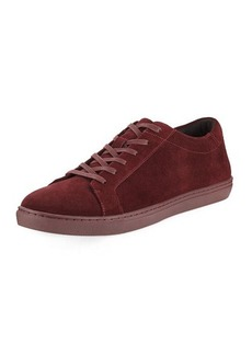 Kenneth Cole Men's Suede Low-Top Sneaker