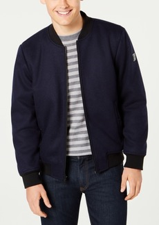 Kenneth Cole Men's Wool Bomber Jacket