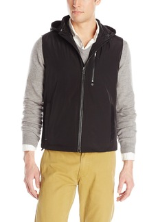 Kenneth Cole New York Men's Kenneth Cole Zip Off Hood Vest