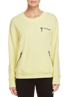 Kenneth Cole Multi-Zip Sweatshirt