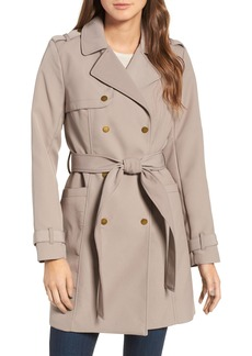 Kenneth Cole New York Belted Trench Coat