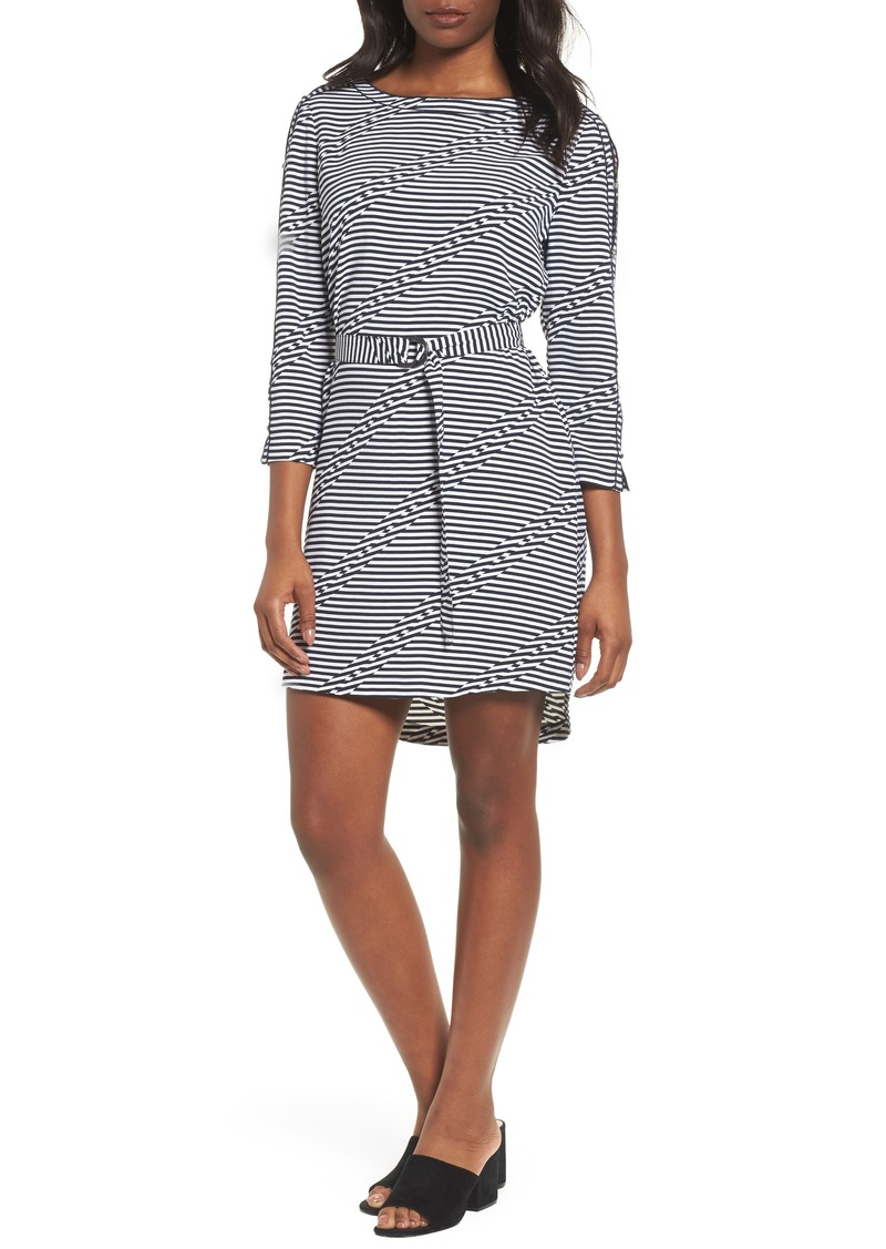 Kenneth Cole New York Belted Waist Dress