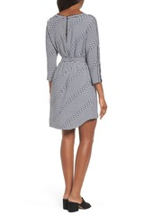 Kenneth Cole New York Belted Waist Dress