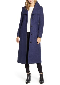 Kenneth Cole New York Bouclé Maxi Coat
