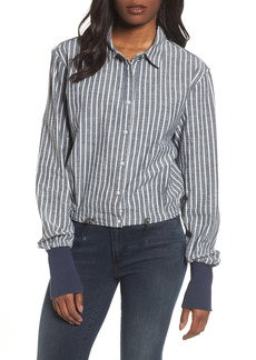 Kenneth Cole New York Boxy Button Down Shirt