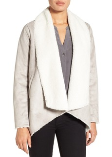 Kenneth Cole New York Cascade Faux Shearling Coat