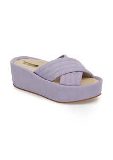 Kenneth Cole New York Damariss Platform Slide Sandal (Women)