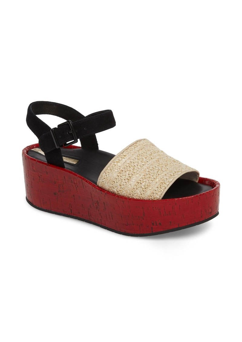 09856d7d3b7 Kenneth Cole Kenneth Cole New York Danton Platform Wedge Sandal ...
